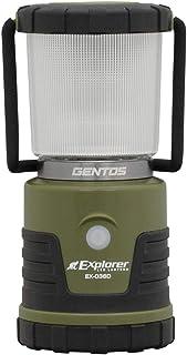 GENTOS(ジェントス) LED ランタン 【明るさ450ルーメン/実用点灯18-255時間/3色切替/防滴】 エクスプローラー EX-036D 防災 あかり 停電時用 ANSI規格準拠
