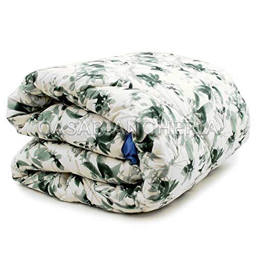 bassetti colcha para cama de Matrimonio Flourish Verde–para cama de Matrimonio (260x 260cm)–trapmbassetti4