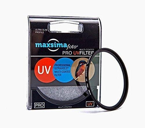 Maxsima - 62mm Filtro UV para Tamron 18-200mm f3.5-6.3 XR Di II, Tamron AF 18-270mm f3.5-6.3 Di II VC PZD.