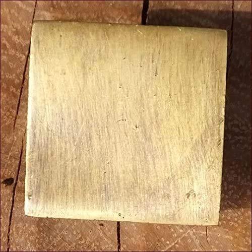 MANJA MTMET-019 真鍮 取っ手 ドアノブ つまみ ハンドル アンティーク レトロ調 ナチュラル:MTMET-019