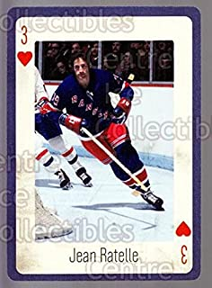 (CI) Jean Ratelle Hockey Card 2005 New York Rangers Legends Playing Card 16 Jean Ratelle