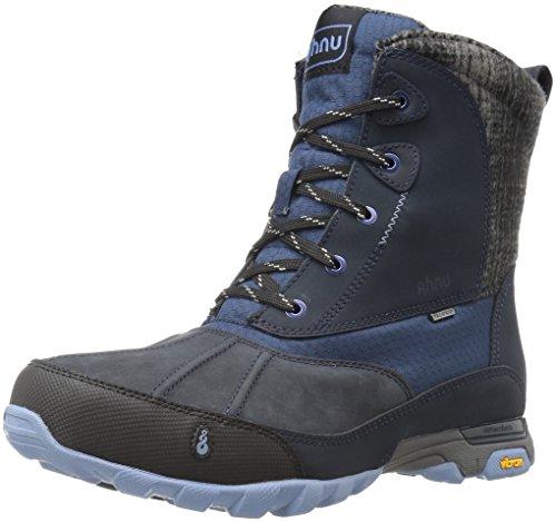 Ahnu Women's Sugar Peak Insulated Waterproof Hiking Boot, Blue Spell, 8 M US