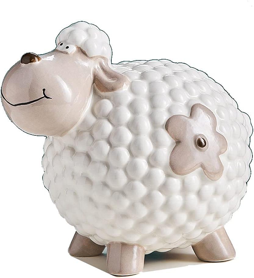 ZSM Money Bank Ceramic Piggy Sale Cute Coin Shape Ranking TOP14 Sheep Mo Banks