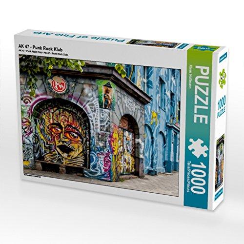 Preisvergleich Produktbild AK 47 - Punk Rock Klub 1000 Teile Puzzle quer