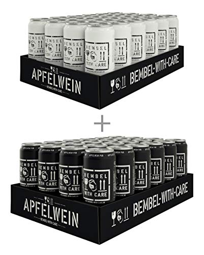 BEMBEL WITH CARE Apfelwein-Cola (24 x 500 ml) + Apfelwein-Pur (24 x 500 ml)