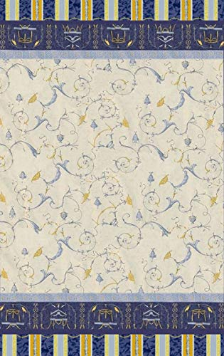 Bassetti OPLONTIS Granfoulard, Baumwolle, Blau, 270 x 270 x 1 cm