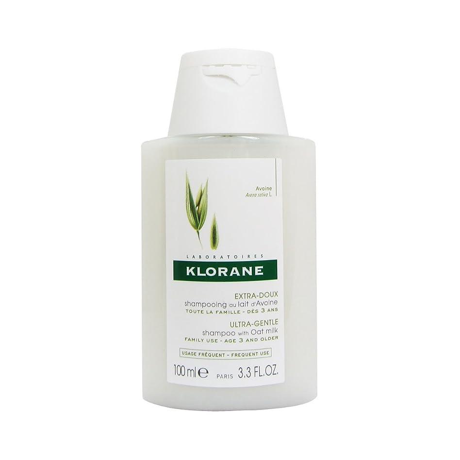 アラバマピークアミューズKlorane Shampoo With Oat Milk 100ml [並行輸入品]