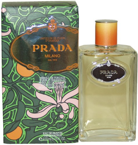 Prada Milano Infusion De Fleur D'Oranger Eau De Parfum Spray for Women, 6.75 Ounce