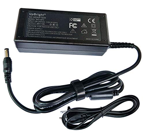 UpBright 12V 5A 60W AC/DC Adapter Compatible with DVE DSA-0601S-12 1 1250 LCD Netgear ReadyNAS RN 102 RN10200 Cisco DSA-60W-12 1 12060 CWT KPL-060F VI Delta EADP-60MB B CS-1205000 Mackie DL806 DL1608