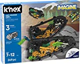 K'NEX 13127 Imagine, 4WD Crusher Tank Building Set, Ages 7+, Engineering Educational Toy, 249 Pieces