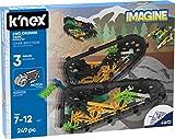 K'NEX Imagine – 4WD Crusher Tank Building Set – 249Piece – Ages 7+ – Engineering Educational Toy Building Set