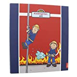 Goldbuch Kindergartensammelordner, Frido Firefighter, A4, Mit 4 illustrierten Trennblättern, 5,5 cm Rückenbreite, Kunstdruck laminiert mit UV-Lack, Rot, 35445