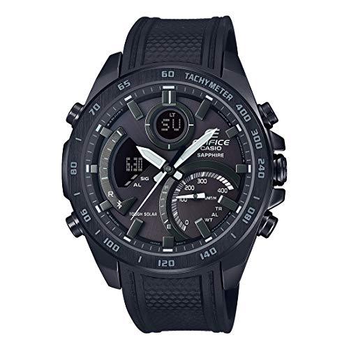 Casio Edifice Bluetooth Connect Analog-Digital Black Dial Men's Watch ECB-900PB-1ADR(EX515)