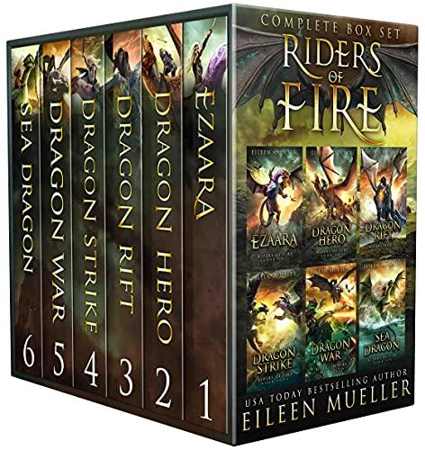 Riders of Fire Complete Series Box Set books 1-6: YA Epic Fantasy Dragon...