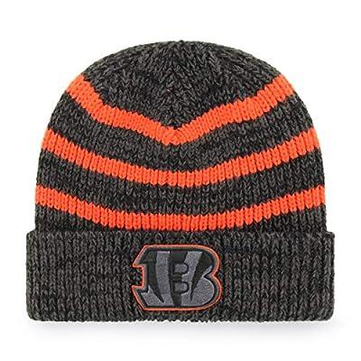 OTS NFL Adult Men's NFL Men's Black Line Cuff Knit Cap