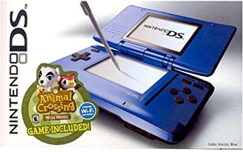Nintendo DS Electric Blue and Animal Crossing Wild World Bundle