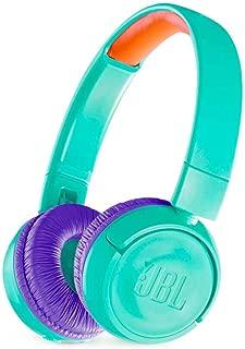 JBL JR 300BT - On-Ear Wireless Headphones for Kids - Teal (Renewed)