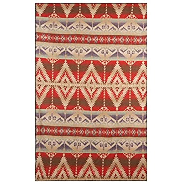 Woolrich Home Roaring Branch Blanket, 50  W x 70  L, Red