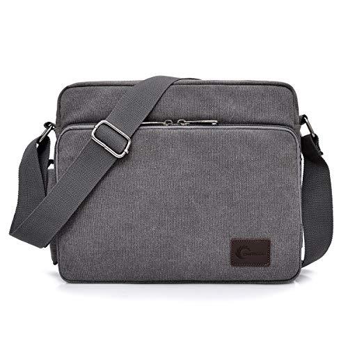 Männer Outdoor Canvas Militär Schultertasche Messengertasche Umhängetasche Bag