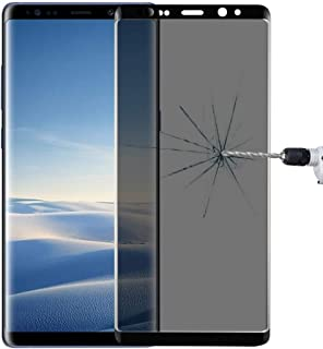 Screen Protector Foils for Galaxy Note 8 0.26mm 9H Surface Hardness 3D Curved Privacy Anti-Glare Full Screen Tempered Glas...