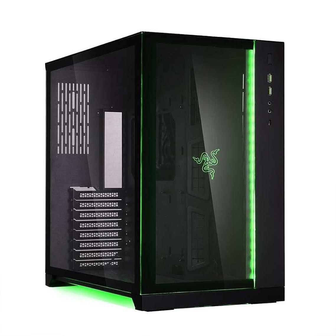 回路顕現パウダー★最高ゲーミングPC 1台のみ★Core i7最新第9世代 i7-9700k搭載 3.60Ghz/ DDR4 16GB / SSD 500GB + HDD 2TB/ マザー Z390 / グラボ RTX 2080 (8GB) / Win10インストール★RAZERモデル★ (Razer 緑(Green), Core i7 9700K & RTX 2080)
