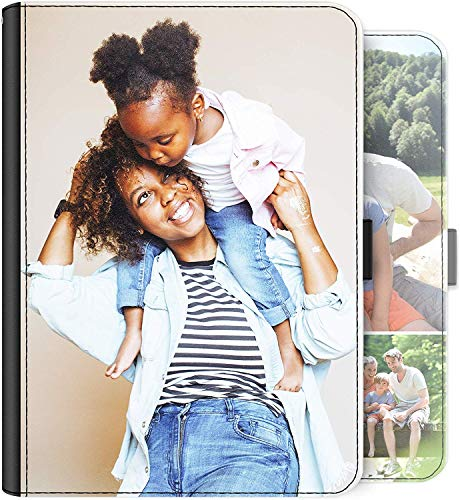 Personalised Case For Vodafone Smart Tab 4G (8.0 Inch) Tablet, Universal Tablet Cover, Customise with photo, Leather Side Flip Folio Case with 360 Swivel Feature - Customize Now