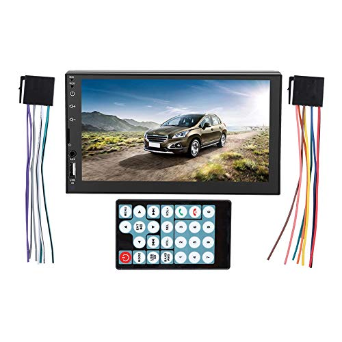 2 DIN 7inch Autoradio MP5 Player Indash Double DIN HD Touch Screen Bluetooth Car Multimedia GPS MP5 Lettore MP3 Supporto FM/AUX/TF Card/USB/Telecomando per Android/Apple
