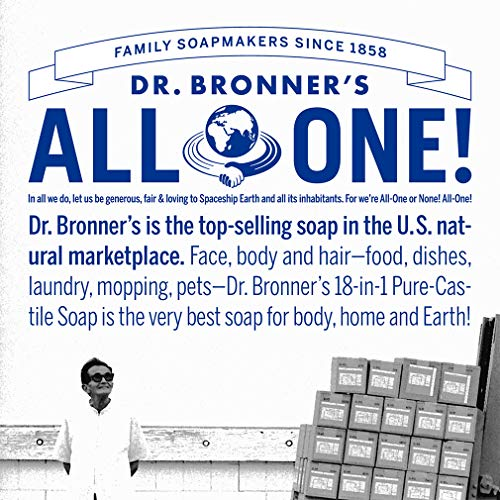 Dr. Bronner's Organic rose oil castile soap, 32 Ounce