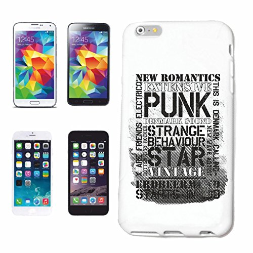Bandenmarkt telefoonhoes compatibel met iPhone 6 New Romantics EXTENSIVE punk strengen BEHA VIOUR Star Vintage Vintage Lifestyle Fashion Gothic Biker Street WEAR PAR