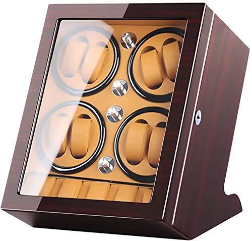 GLXLSBZ 8 + 5 Agitador de Reloj Automático Mecánico Reloj enrollador Motor Rotador Caja Joyería Reloj Soporte de exhibición Gabinete con Cerradura Caja de Almacenamiento de Reloj de Gran Capacidad