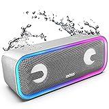 DOSS SoundBox Pro + Altavoz Bluetooth inalámbrico con Impresionante Sonido de 24 W, Graves...