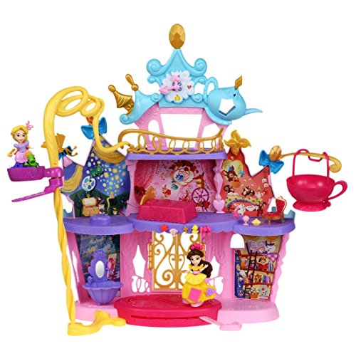 ディズニー プリンセス リトルキングダム エレベーターのある大きなダンスキャッスル