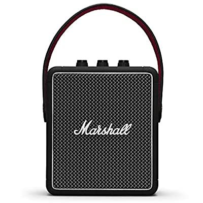 Marshall Stockwell II Portable Bluetooth Speaker - Black (UK) from Zound Industries