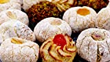 Pasteles de almendras sicilianas de varios gustos (500g) envasados individualmente en sobres monodosis y enviados en caja regalo - Nonna Sicula - Malaseno