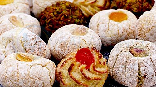 Paste di mandorla siciliane vari gusti (500g) confezionati singolarmente in buste monodose e spedite in box regalo - Nonna Sicula - Malaseno