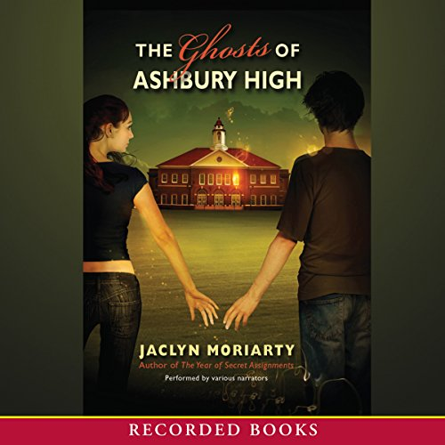 The Ghosts of Ashbury High audiobook cover art