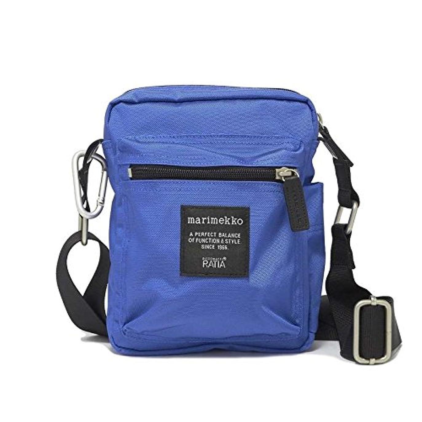 恵み宿る百年Marimekko ショルダーバッグ CASH CARRY BAG 046019 レディース BRIGHT BLUE 005 マリメッコ [並行輸入品]