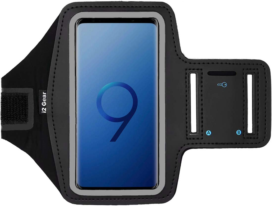 2 XL S8 /& Google Pixel 3 XL i2 Gear Running Armband Phone Holder Compatible with iPhone 11 Pro Max XR Black Galaxy S10+ XS Max 8 Plus S9+