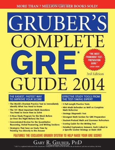 Grubers Complete Gre Guide 2014