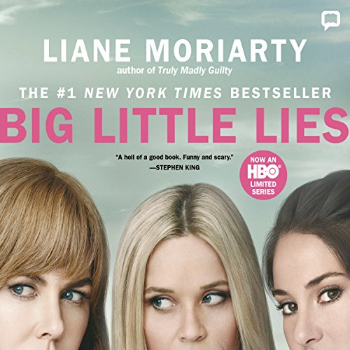 Big Little Lies audiobook cover art