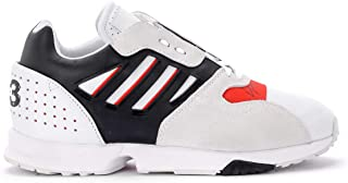 Y-3 Man's Zx Runner White and Red Sneaker