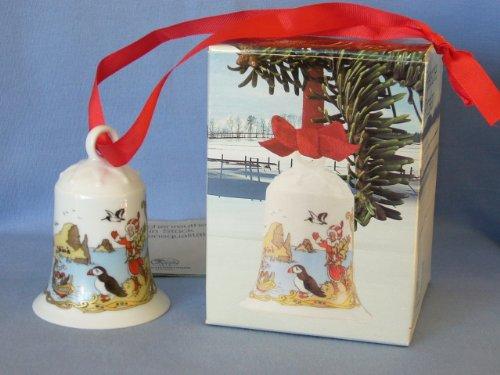 Hutschenreuther - Weihnachtsglocke 1989 - Glocke Porzellan - NEU - OVP - 1. WAHL