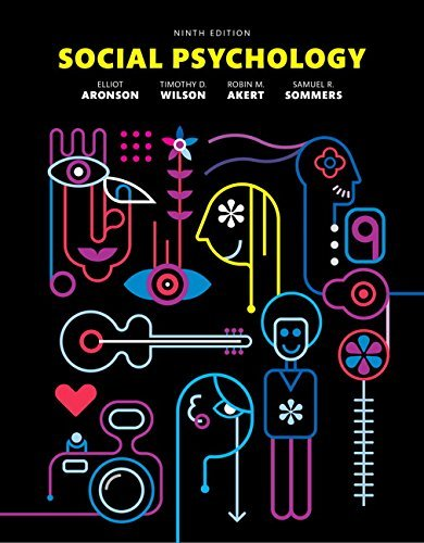 Price comparison product image Social Psychology (9th Edition) by Elliot Aronson (2015-07-10)