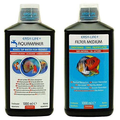 Easy Life Sparpack Filtermedium 1000 ml Aquamaker 1000 ml Optimales Aquariumwasser