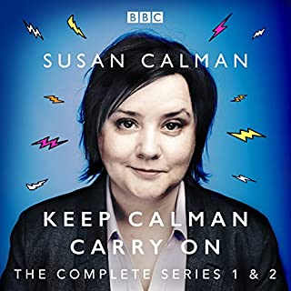 Susan Calman: Keep Calman Carry On cover art