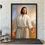 A&D Wandkunst Leinwand Malerei Jesus Und Jungfrau Maria