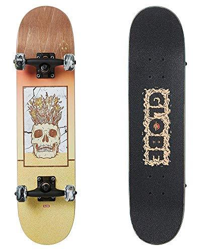 Globe Celestial Growth Mini Skateboard, für Erwachsene, Unisex, Braun (Brown), 17,8 cm (7 Zoll)