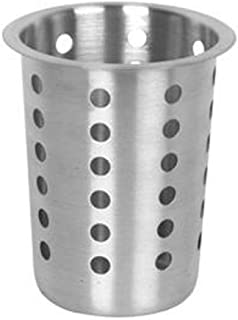 Stainless Steel flatware cylinder cups, containers for stainless steel flatware cylinder holders organizer for utensils silverware, forks, knives, spoons