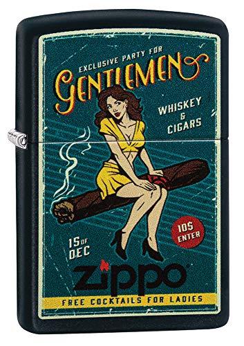 Zippo Feuerzeug, Messing, Individual Design, Original Pocketsize