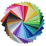 42 Farben Filzstoff Bastelfilz,Filz Blätter Polyester Felt